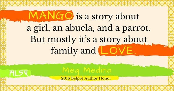 Download Meg Medina's 2016 Belpre Author Honor Acceptance Speech