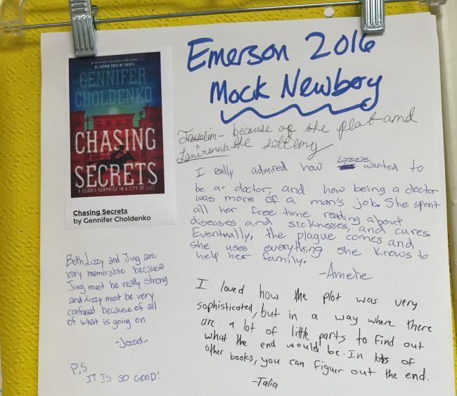 Chasing Secrets student responses