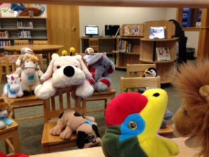 Stuffed Animal Sleepover Puppet Show photo by Paige Bentley-Flannery