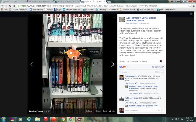 Credt: Alachua County Library Facebook
