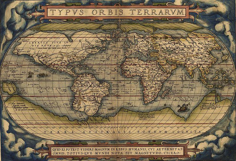 Ortelius World Map