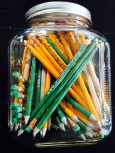 Pencils in a Jar photo by Paige Bentley-Flannery
