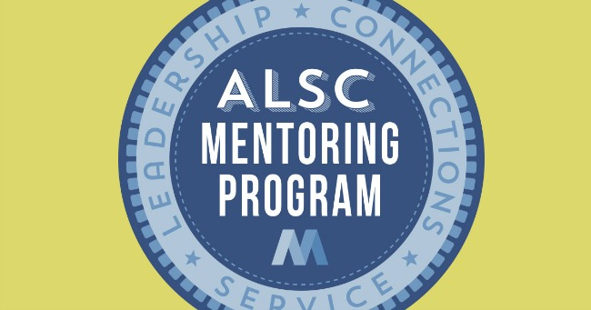 Apply to be a Mentor or Mentee in the ALSC Mentoring Program