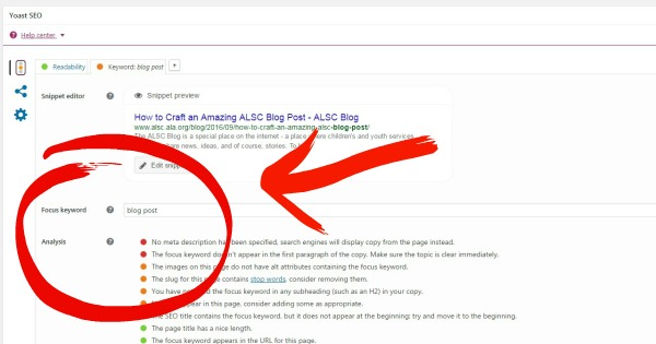 Adding keywords to your post will improve results in search engines