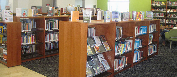 How is your library providing a safe space for children and their caregivers
