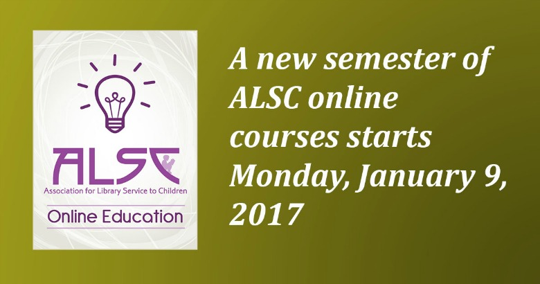 Take a Winter 2017 ALSC Online Course