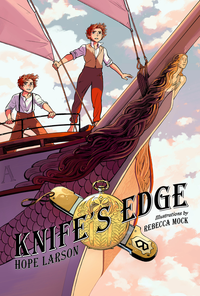 Book cover image: Knife's Edge