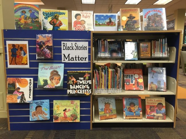 Social justice books that promote black stories.
