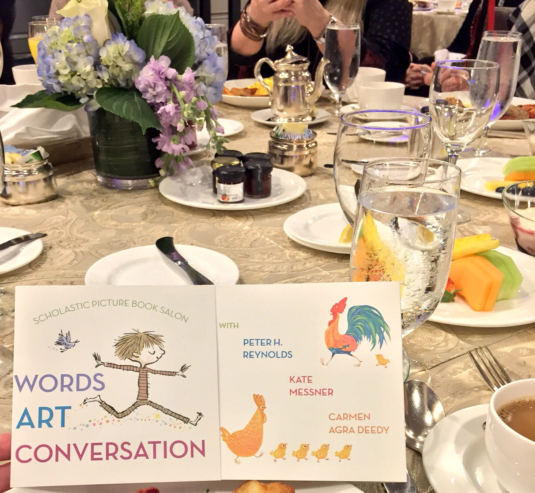 Up Next, Second Breakfast With Scholastic Authors & Illustrators Talking  About What We All Love Picture Books!