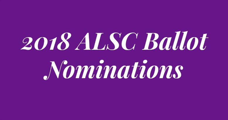 Nominate Yourself or a Colleague for the 2018 ALSC Ballot
