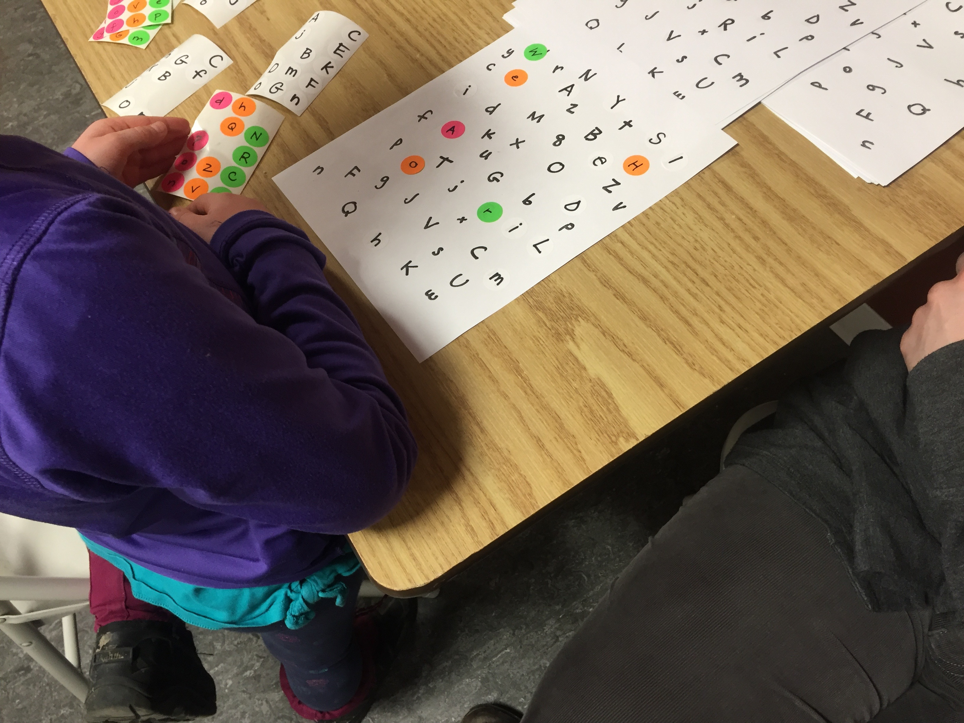 letter search game