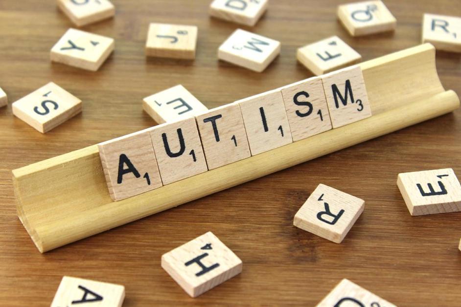 """""""Autism"""" Scrabble tiles"""