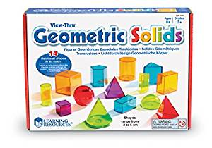 Geometric Solids toy