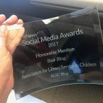 PRNews 2017 Best Blog Honorable Mention