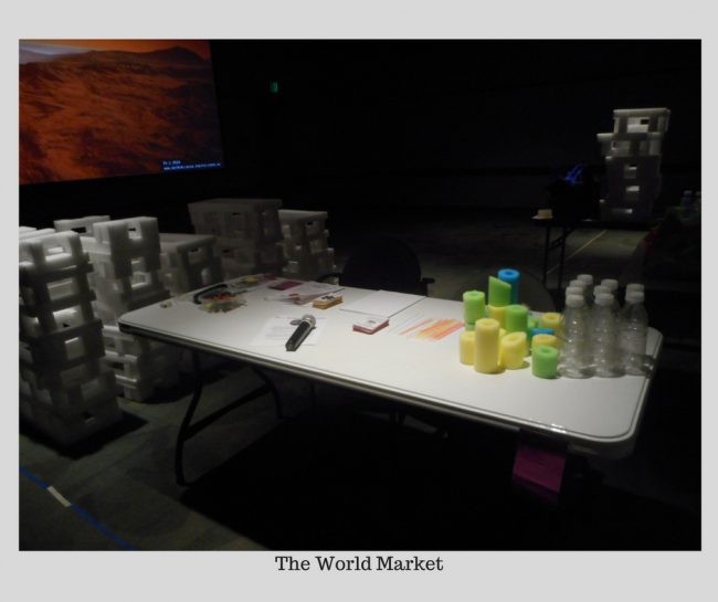 A picture of the World Market