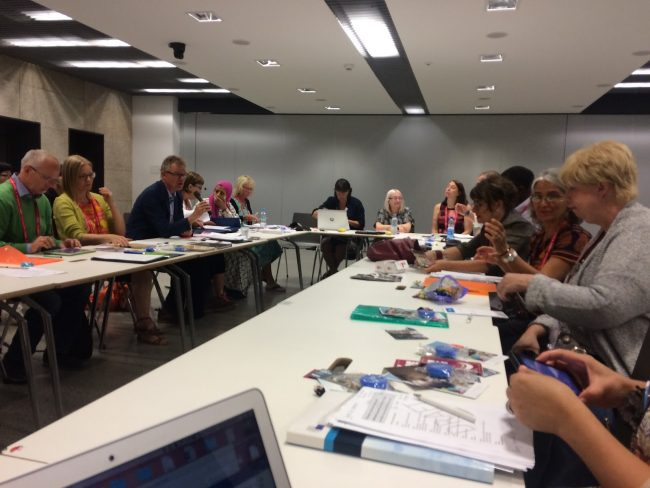 IFLA's Section on Libraries for Children and Young Adults hard at work!