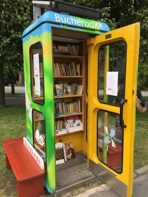 LIttle Library at Centennial Hall - Wroclaw, PL