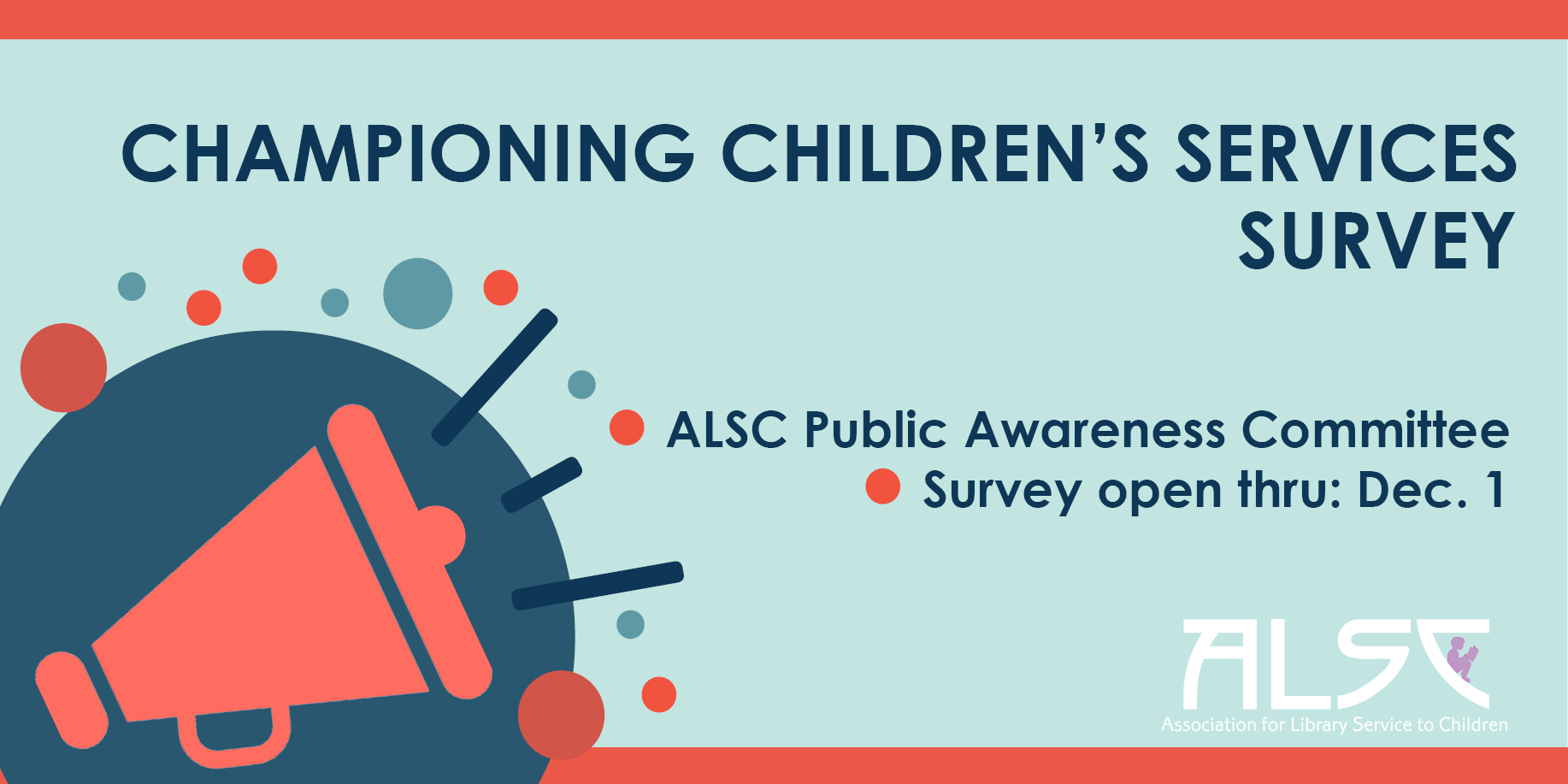 Championing Children's Services Survey Banner