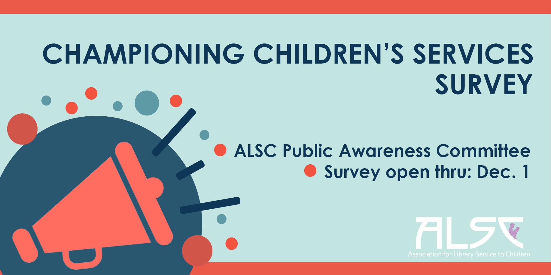 Championing Children's Services Survey Banner