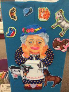 """""""I Knan Old Lady"""" flannel board story"""