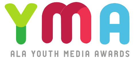 Youth Media Awards logo for use with Mock Elections 2019 page