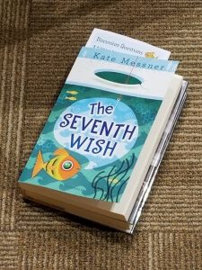 Cover im age of The Seventh Wish, a book which was used to open conversation about overdoses
