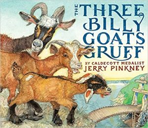 Cover image of Three Billhy Goats Gruff