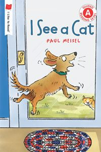 Book cover of I See a Cat
