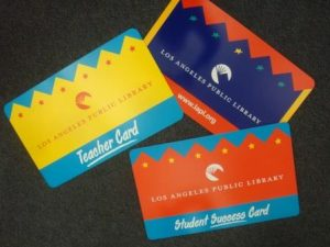 LAPL cards for students and teachers