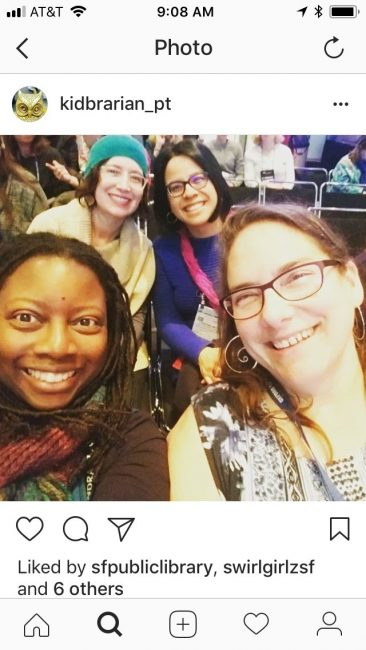 Bay Area librarians at 2018 YMA event