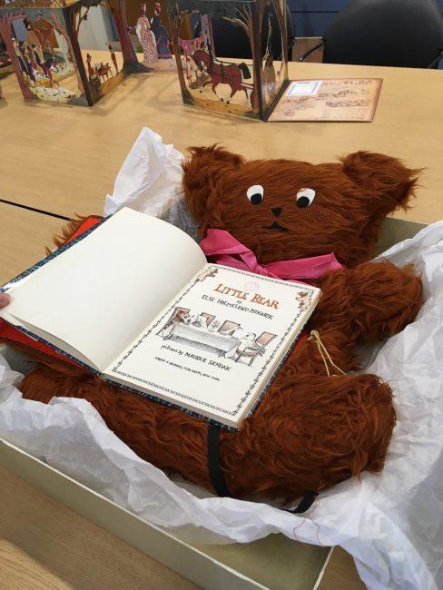 Little Bear altered book