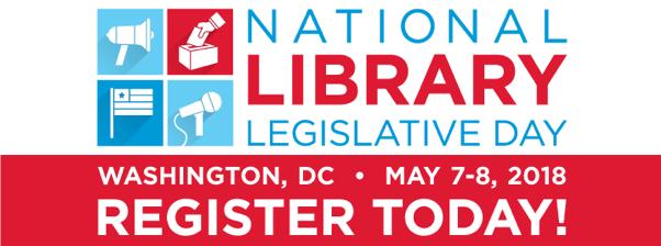 National Library Legislative Day 2018 Logo