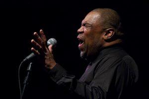 Image of Greg Sherrod singing