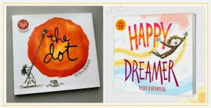 Cover image of books by Peter Reynolds