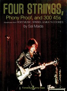 Cover image of Sal Maida's Four Strings, Phony Proof and 300 45s