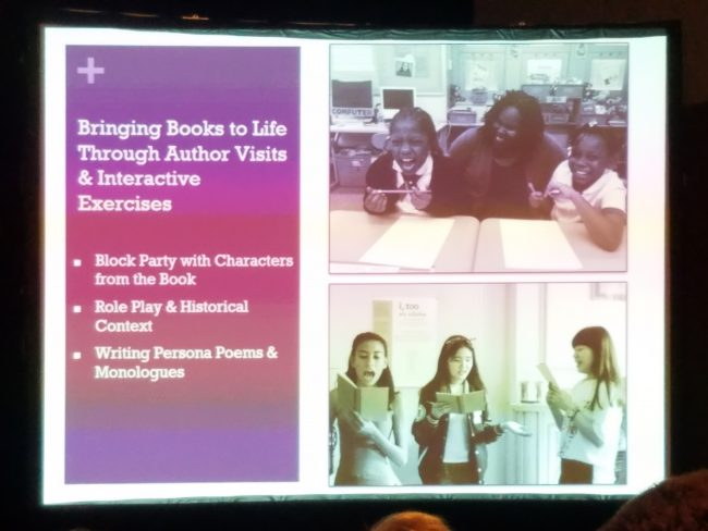 Bringing Books to Life Through Author Visits & Interactive Exercises
