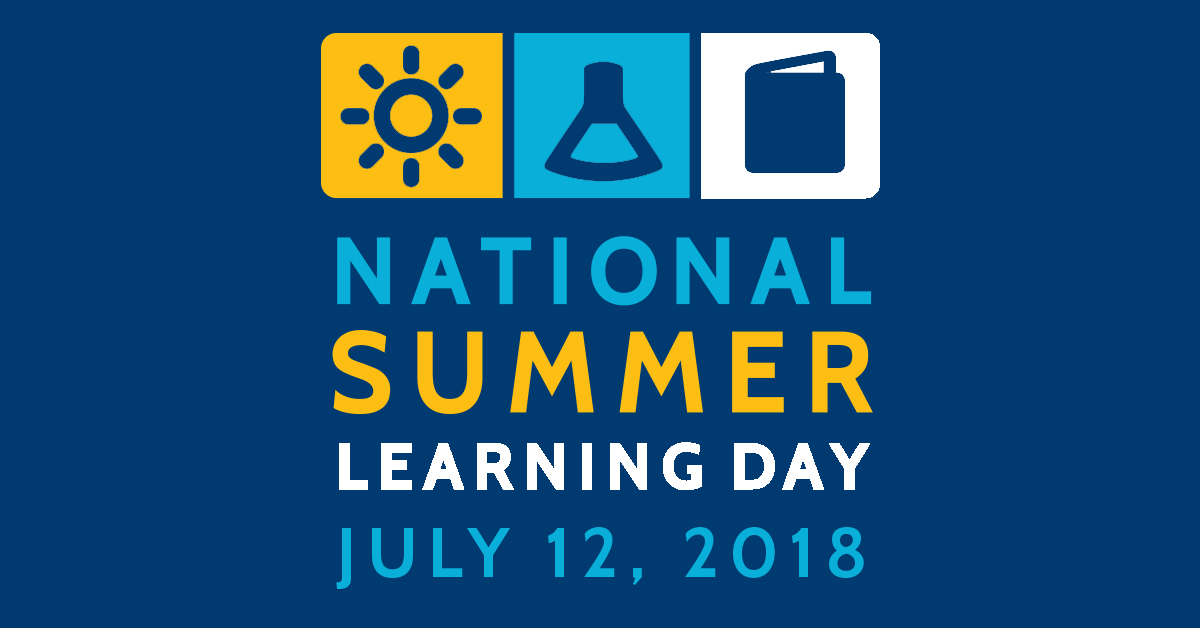 National Summer Learning Day 2018