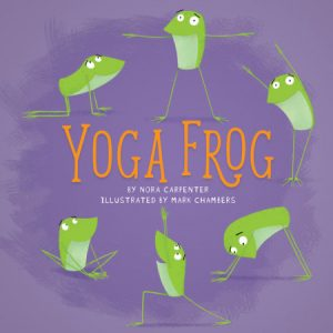 Book cover image of Yoga Frog