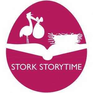 Stork Storytime logo