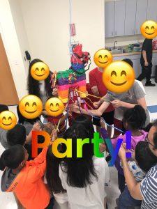 Kids party at a Dia Celebration