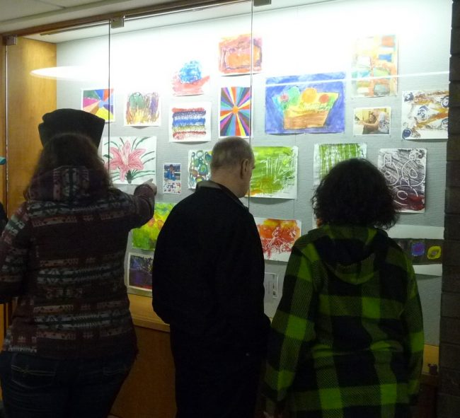 Center for Enriched Living Display