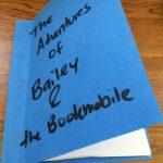 A homemade stapled book