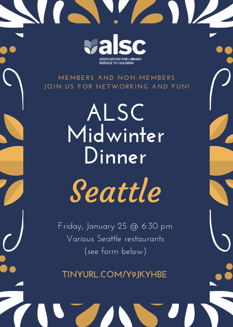 ALSC Midwinter Dinner in Seattle - one of the conference programs