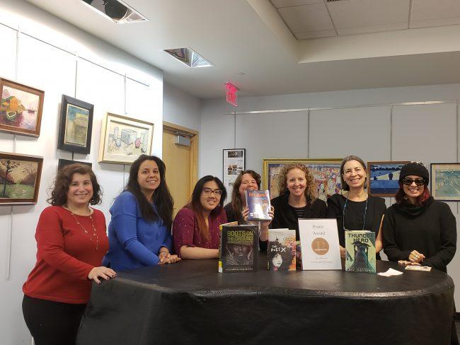 Mock Printz program hosted by YA Book Buzz
