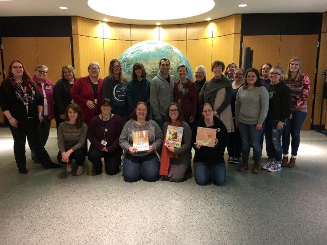ACPL Mock Caldecott participants