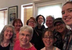 Participants in the CBE Mock Batchelder Book Discussion Group