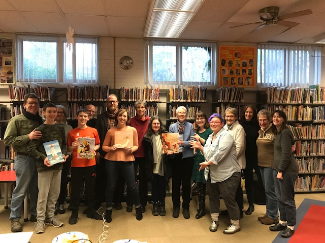 Participants in the Mock Caldecott for Adults
