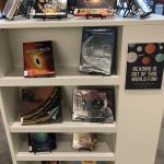Display of space books