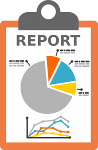 clip art image of an overview report
