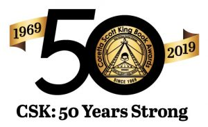 "Logo with text ""CSK: 50 Years Strong"""